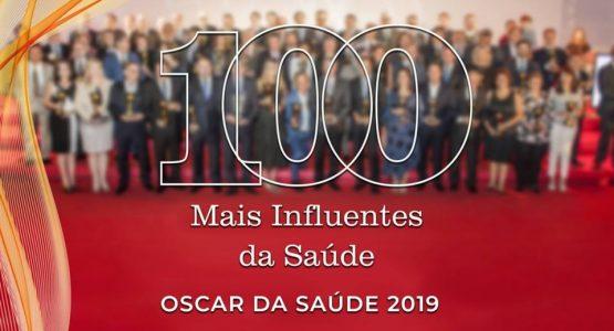 100 MAIS INFLUENTES DA SAÚDE 2019